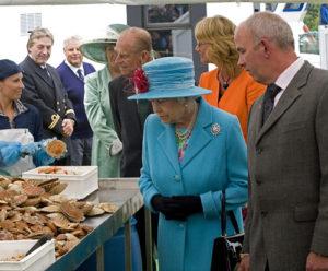 Royal Visit to Kirkcudbright